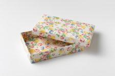 和紙箱はがき 笑 emi ねこガーリー